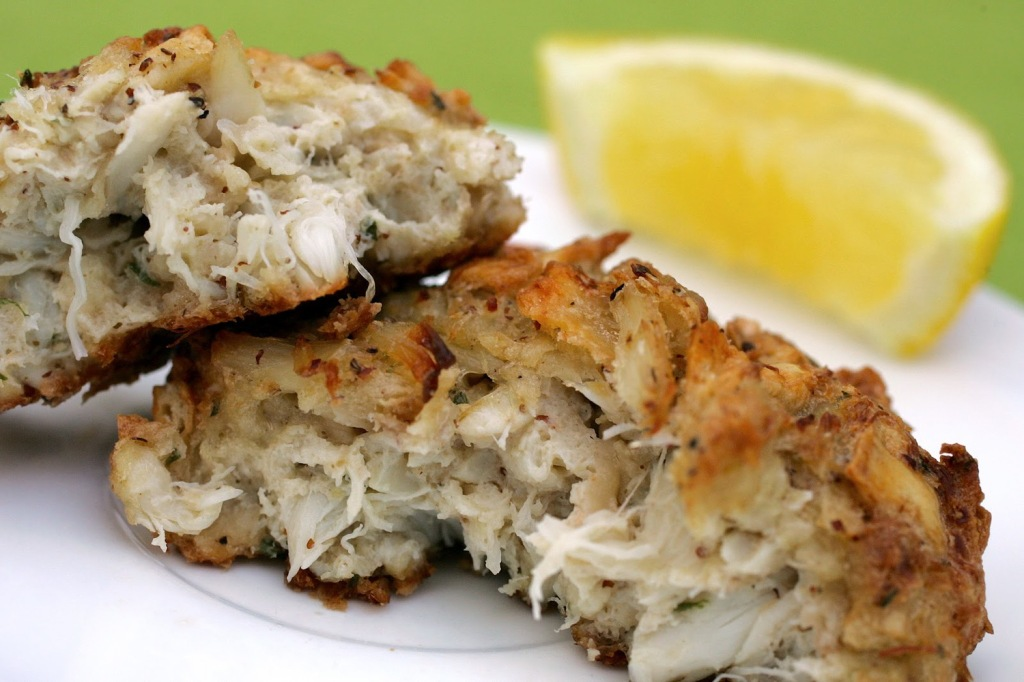 A Chesapeake Crab Cake